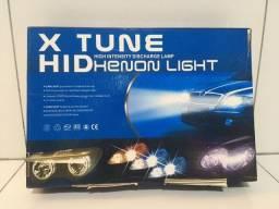 Kit Xenon H1 8000k Super Potente Funcionando Perfeitamente