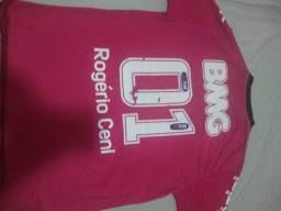 Camisa são paulo Rogério Ceni 100 gols reliquia