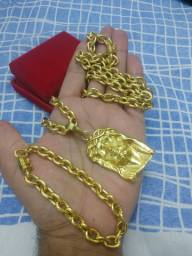 Cordão moeda antiga kit completo