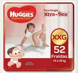 Fralda Huggies Supreme Care XXG 52 Unidades