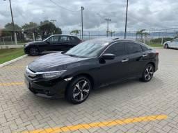 Civic Touring 1.5 Turbo 2018 - com baixa quilometragem e acessórios
