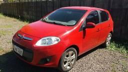 Fiat Palio vermelho 2014 completo 1.4