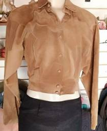 Jaqueta de Couro feminina Tam. M