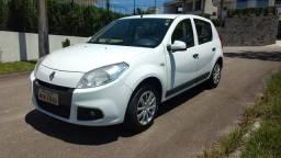 Renault sandero expression 1.6 flex e no gnv legalizado completo ano 2013