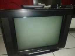 Televisão e conversor