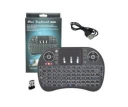 Mini Teclado Sem fio Usb com Touch Pad - Loja Minichina