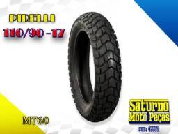 Pneu Pirelli 110/90-17 Mt60 Bros/ XRE 190 / Crosser (09980)