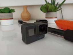 GoPro Hero 5 Black 4K+Caixa Estanque+Tripé Ajustável 3 níveis+Bastão Flutuante