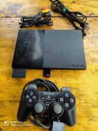PlayStation 2 super slim  lendo jogos pendrive 16 gigas