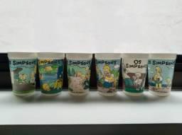 Copos The Simpsons Colecionáveis Pepsi Antigo Promocional