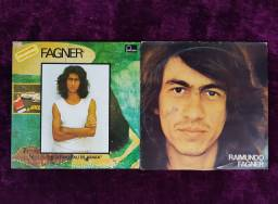 Dois discos de vinil Raimundo Fagner