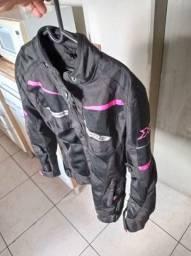 Jaqueta motoqueiro feminina