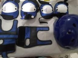 Kit de skate azul