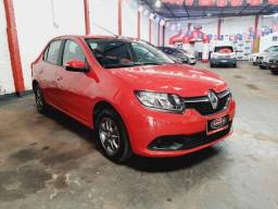 Renault logan 1.6 expression ano 2018 completo midia r$14.900,00