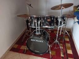 Bateria Michael Classic Completa