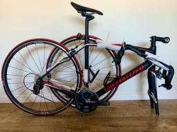 Bicicleta Bike speed specialized robaix SL4 Sport tamanho 56 Carbono Impecável