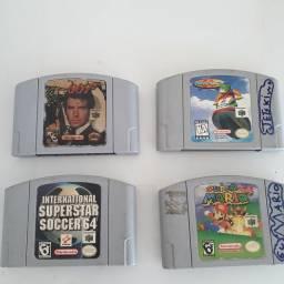 Fitas para Nintendo 64