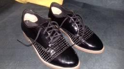 Sapato Verniz da Bebecê Preto Tamanho 35
