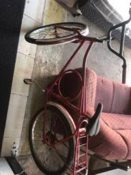 Bicicleta monark usada mais funcionando