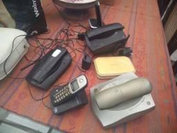 Lote de telefones sem fio
