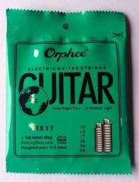 Cordas de Guitarra Orphe Aço