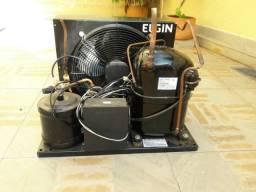 Condensadora Elgin UCM 2150(1,5Hp) 220V Trifásico+Porta Galant Plus+Quadro comando digital