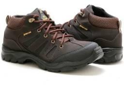 Bota XT Xtreme botinha tênis tenho preto e marron numeros 39 a 42 - nova