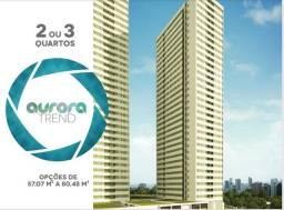 JCV- Aurora Trend. Um Super Cond. Club de 2/4 no Centro da Cidade