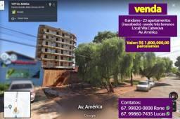 3 terrenos com 23 apartamentos inacabado de 8 andares