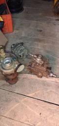 Cabeçotes, turbina, bomba injetora, alternador