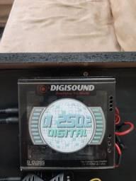Modulo di250 digital mais par de auto falante de porta ac troca por modulo 4canal
