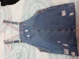 Jardineira jeans Blue Steel