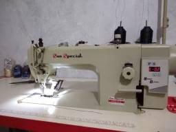 Máquina De Costura Reta  industrial Direct Drive Sun Special com led motor acoplado