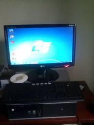 Computador Completo HP Compaq AMD Athlon X2 Dual Core