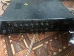 Módulo amplificador para som ambiente