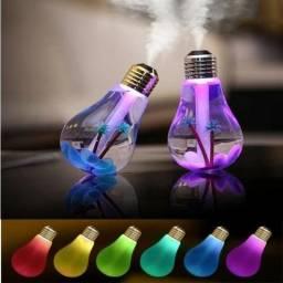 Umidificador e aromatizador de ar em formato de lampada nova (aceitamos seu auxilio)