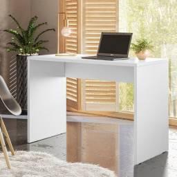 Mesa Reta office secretaria acabamento em Uv ( em goias entrega e montagem) novo