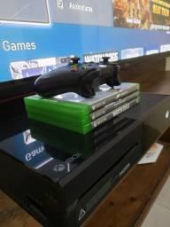 Xbox one Fat Black piano 500Gb em perfeito estado e funcionamento