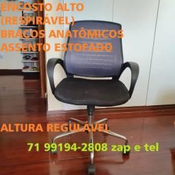 Cadeira Executiva (diretor). Encosto Alto - Pituba