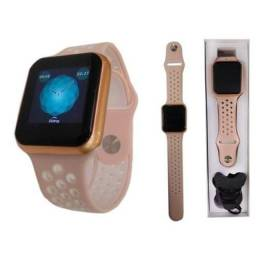Relógio Inteligente Smartwatch F8 Fitness 1 Pulseira