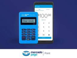 Maquininha de cartão Débito e Crédito Point Mini D150 - Mercado Pago