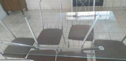 Mesa kappesberg de vidro