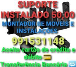 SUPORTE FIXO DE TV qualquer bairro