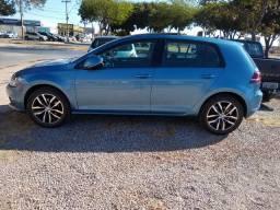 Golf azul modelo novo top dos tops