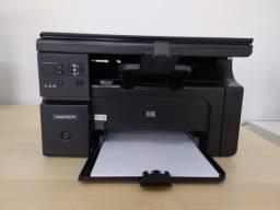 Impressora HP multifuncional LaserJet Pro M1132 MFP