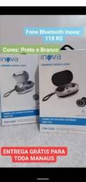 Fone de Ouvido Bluetooth Inova