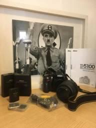 Máquina Nikon 5100 +Kit Completo