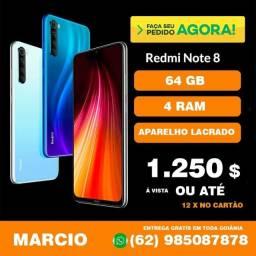 Xiaomi note 8 64gb ( lacrado ) R$ 1250,00