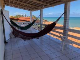 Casa beira-mar na praia de Caraúbas