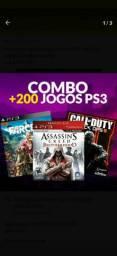 Jogos Para ps3 midia digital original combo com mais de 500 jogos para ps3 bloqueado